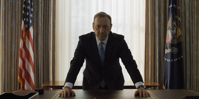 House of Cards Frank Underwood in the Oval Office